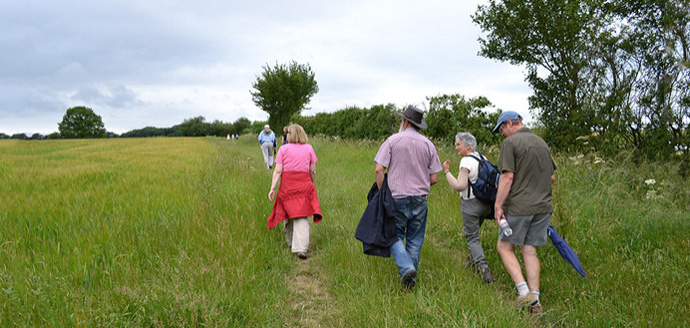 Guided walk over the Blisworth Hill